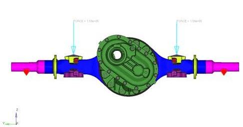 cae于重卡冲焊桥壳设计中的应用
